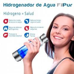 Hidrogenador de agua, botella de agua alcalina portátil para agua hidrogenada