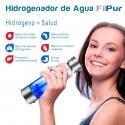 Hidrogenador de agua, jarra de agua alcalina portátil para agua hidrogenada | www.e-purificador.es