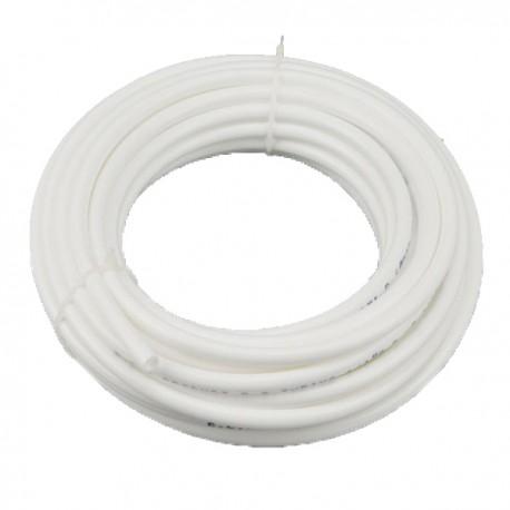 """Tubo blanco (10 mts) para osmosis inversa de 1/4"""" - 1"""