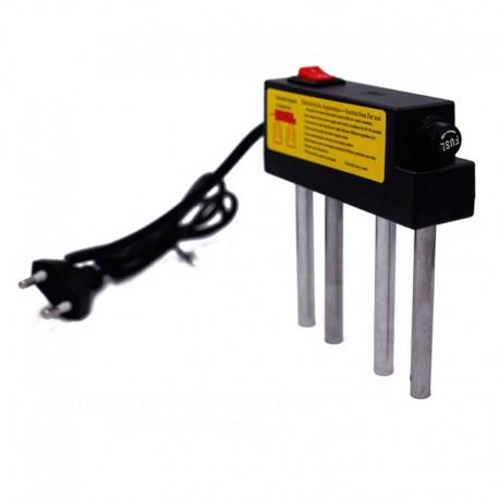 Electrolisis para demostración
