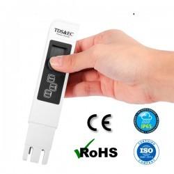 Medidor TDS , Electroconductividad y Temperatura de la calidad de agua para osmosis inversa