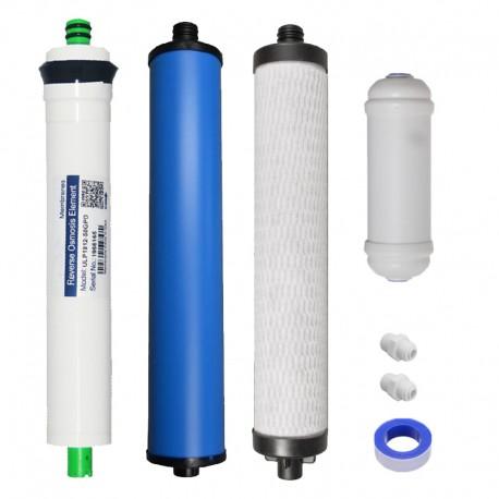 Set de Filtros incluida membrana de Culligan Aqua Cleer o AC30, H83 o Microline