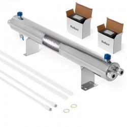 Luz Ultravioleta para desinfectar agua de 24 GPM 110W